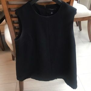 Victoria Beckham for Target Black Top with Trim
